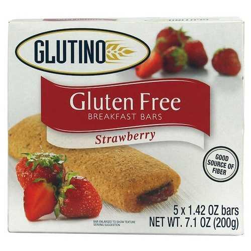 Glutino Straw Breakfast Bars (12x7.1OZ )