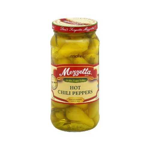 Mezzetta Hot Chili Pepprs (6x16OZ )