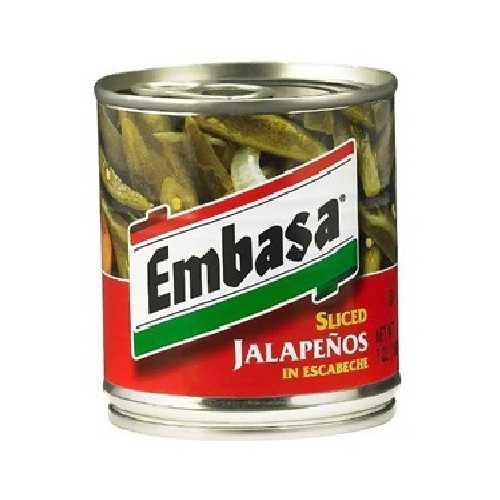 Embasa Sliced Jalapeno Pep (12x7OZ )