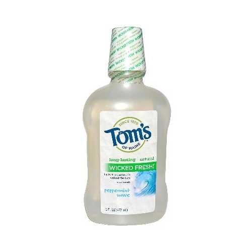 Tom's Of Maine Peppermint Wave Mthwsh (1x16OZ )