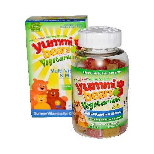 Hero Nutritionals Yb Multi/Min Veget (1x90CNT )