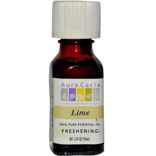 Aura Cacia Lime Essential Oil (1x0.5OZ )
