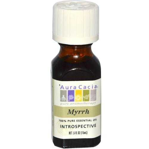 Aura Cacia Myrrh Essential Oil (1x0.5OZ )