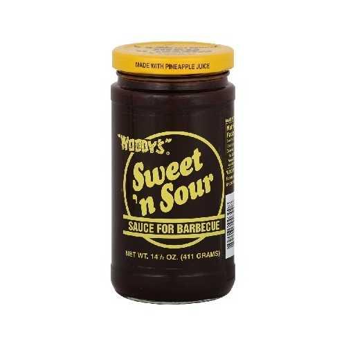 Woodys Sweet N Smoky Sauce (6x14.5OZ )