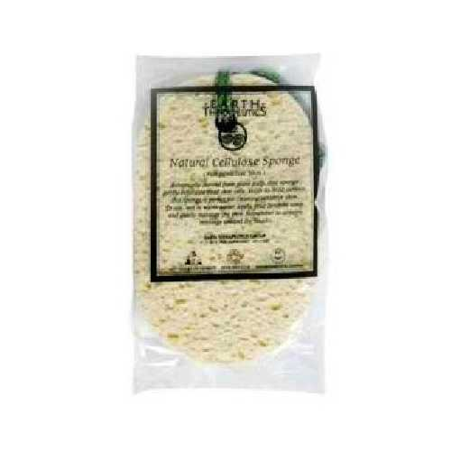Earth Therapeutics Nat Cellulose Sponge (1x1Each)