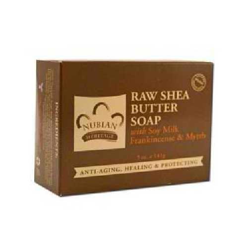 Nubian Heritage Raw Shea Butter Soap (1x5OZ )