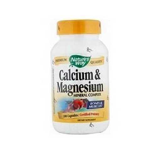 Nature's Way Calcium/Mag 500/250 (1x100CAP )