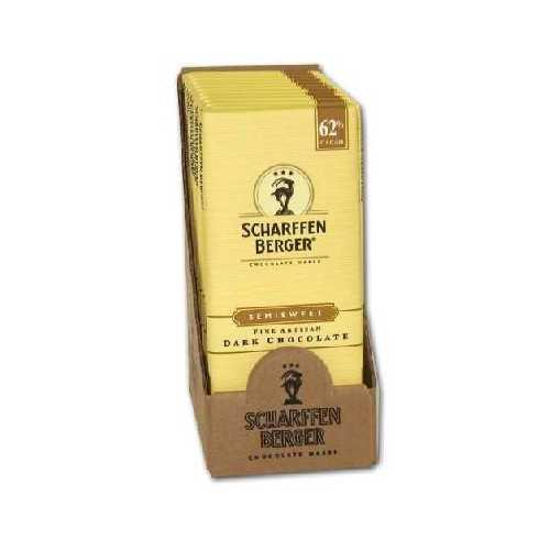 Scharffen Berger Semi Sweet Chocolate Bar (12x3OZ )