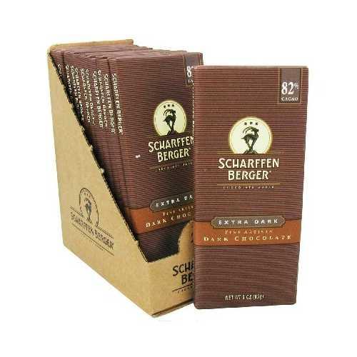 Scharffen Berger Ex Dark Chocolate Bar (12x3OZ )
