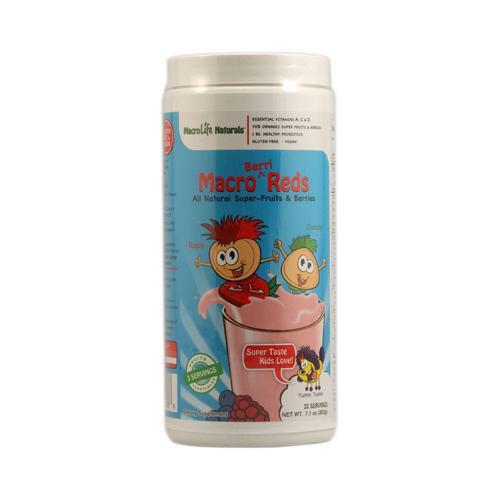 MacroLife Naturals Jr. Macro Reds for Kids Berri 7.1 Oz