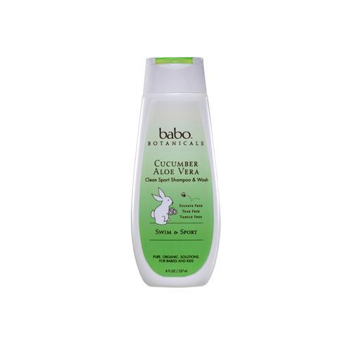 Babo Botanicals Shampoo and Wash Cucumber Aloe Vera (8 fl Oz)