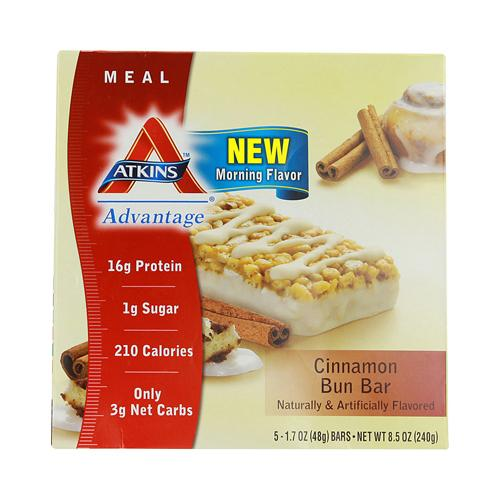 Atkins Advantage Bar Cinnamon Bun (5 Bars)
