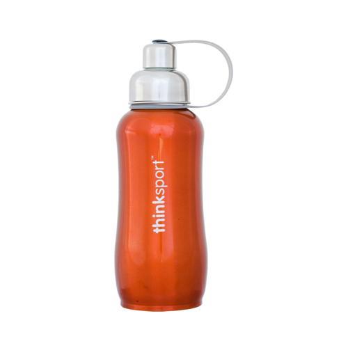 Thinksport Stainless Steel Sports Bottle Orange (1x25 Oz)