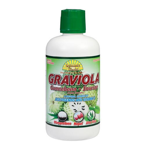 Dynamic Health Graviola Guanabana-Soursop Extract Superfruit Juice Blend 32 Oz
