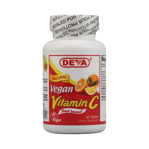Deva Vegan Vitamin C (1x90 Tablets)