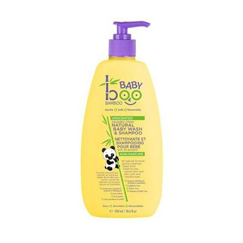 Boo Bamboo Baby Wash and Shampoo Unscented (1x18.6 fl Oz)