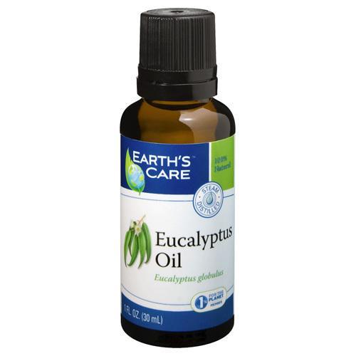 Earth's Care Essential Oil 100% Pure Natr Eucalyptus (1x1 fl Oz)