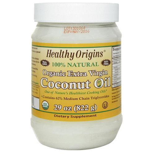 Healthy Origins Coconut Oil Organic Extra Virgin (1x29 Oz)
