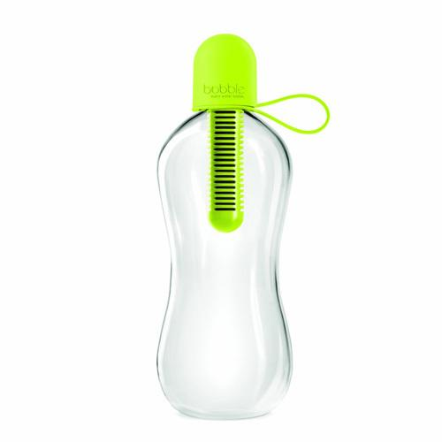 Bobble Water Bottle With Carry Tether Cap Medium Lime (1x18.5 Oz)
