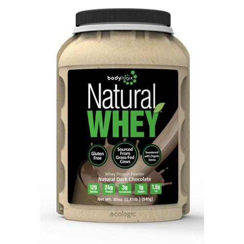 Bodylogix Protein Powder Natural Whey Dark Chocolate (1x1.85Lb)