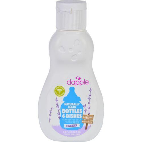 Dapple Baby Bottle and Dish Liquid  Lavender  Travel Size  3 oz