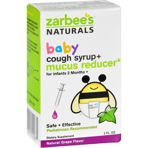 Zarbee's Cough Syrup and Mucus Reducer  Baby  2 oz