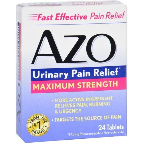 Azo Urinary Pain Relief  24 Tablets