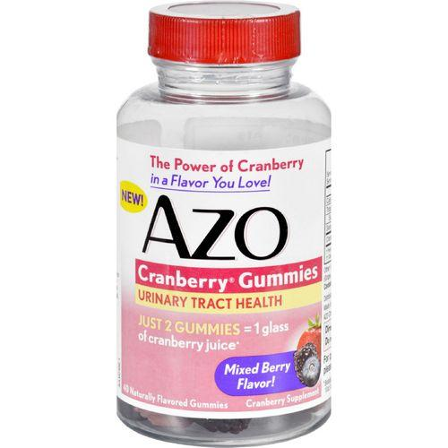 Azo Cranberry Gummies  40 Count