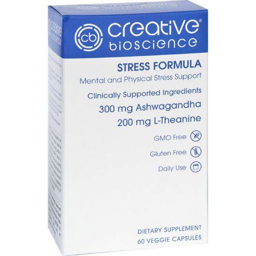 Creative Bioscience Stress Formula  60 Vegetarian Capsules