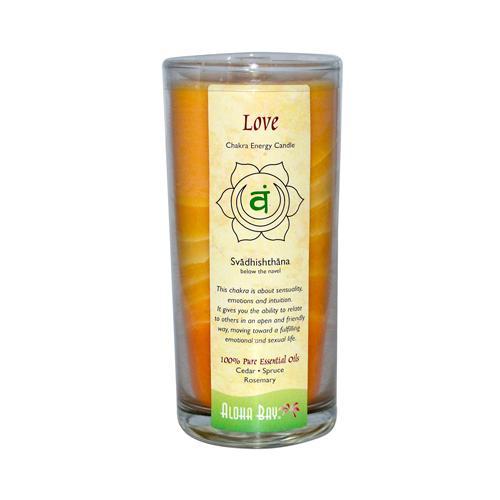 Aloha Bay Chakra Candle Jar Love (1x11 Oz)