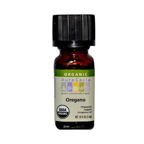 Aura Cacia Organic Oregano (1x0.25 Oz)