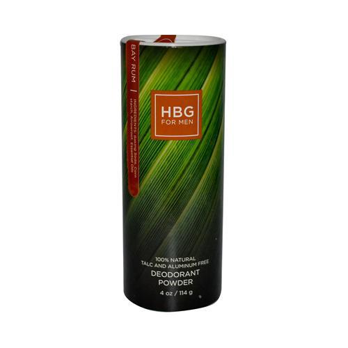 Honeybee Gardens Mens Deodorant Powder Bay Rum (1x4 Oz)