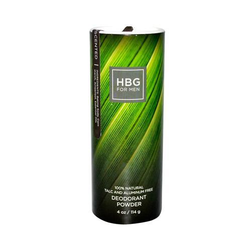 Honeybee Gardens Mens Deodorant Powder Unscented (1x4 Oz)