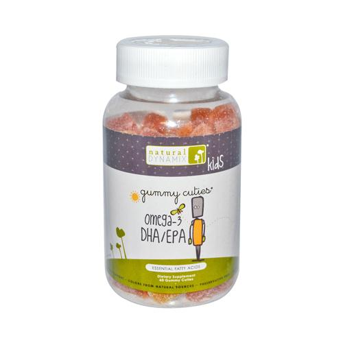 Natural Dynamix Omega 3 DHA-EPA Kids Gummies (60 Gummies)