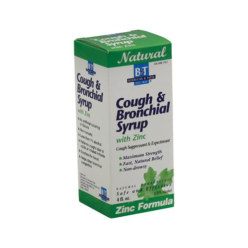 Boericke and Tafel Cough and Bronchitis Syrup with Zinc (1x4 Oz)