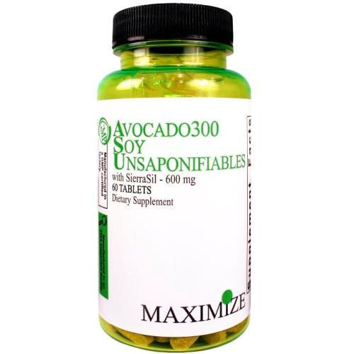 Maximum Avocado 300 Soy Unsaponifiables SierraSil 600 mg 60 Tablets