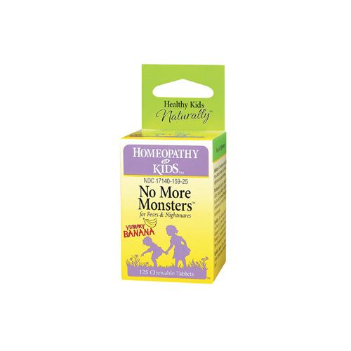 Herbs For Kids No More Monsters Yummy Banana 125 Chewables