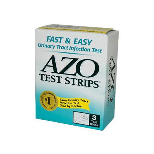 Azo Test Strips 3 Test Strips