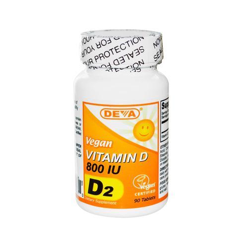 Deva Vegan Vitamin D 800 IU (1x90 Tablets)