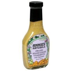 Annie's Naturals Org Sesame Ginger Chamomile Vinaigrette (6x8 Oz)