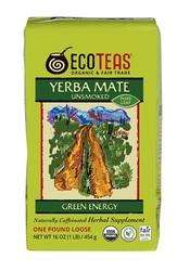 ECOTEAS Yerba Mate Pure Leaf Loose Tea (6x1LB)
