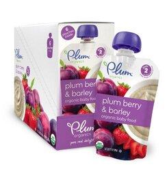 Plum Organics Plum Berry & Barley Blends (6x3.5 Oz)