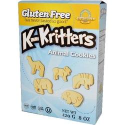 Kinnikinnick Animal Cookies Kinnikrit (6x8 Oz)