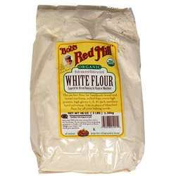 Bob's Organic Unbleached White Flour ( 4x5lb)