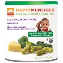 Happy Baby Happy Munchies Broccoli, Kale & Cheddar Cheese (6x1.63Oz)