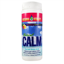 Natural Vitality Calm Raspberry Lemon (1x8 Oz)
