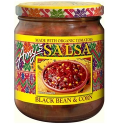 Amy's Kitchen Black Bean & Corn Salsa (6x14.7 Oz)