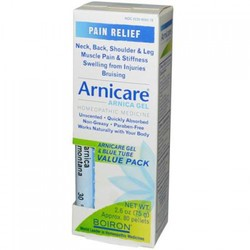 Boiron Arnica Gel & Blue Tube Bonus (1x2.5 Oz)