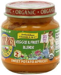 Earth's Best Stage 2 Sweet Potato Apricot (12x4 Oz)