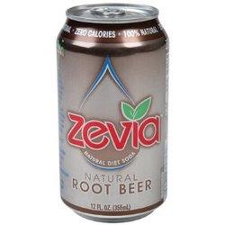 Zevia Natural Root Beer Diet Soda (4x6x12 Oz)